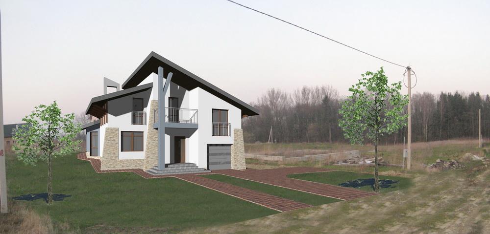 Житловий будинок біля Наварійського озера