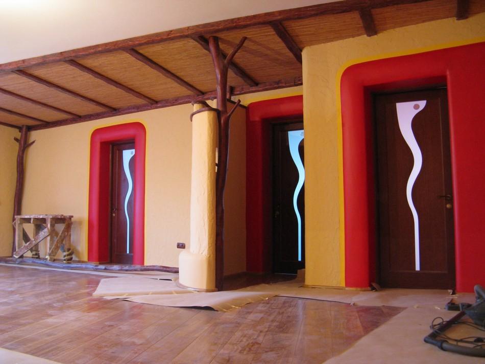 Квартира в стилі центральної Африки, м. Львів