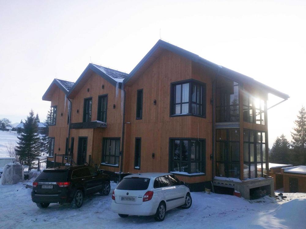 Міні-готель на високогір'ї в Карпатах