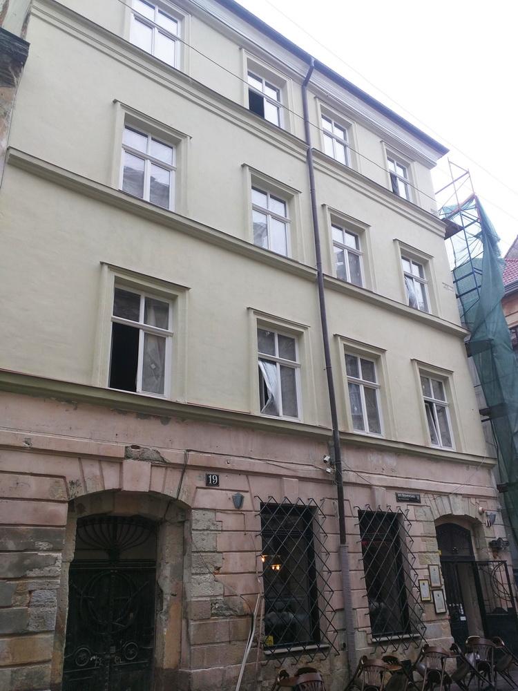 Реставрація будинку на вул. Вірменській 19 у м. Львові
